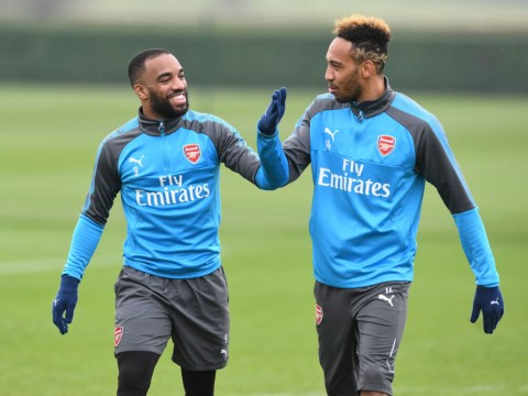 Pierre-Emerick Aubameyang tells Arsene Wenger he wants to play alongside Alexandre Lacazette at Arsenal