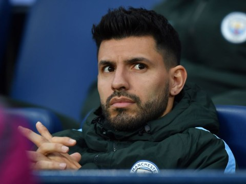 Sergio Aguero's dad says Manchester City star will be back in training in 10 days