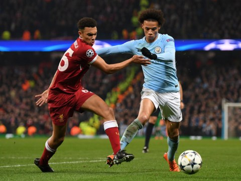 Liverpool fans tell Trent Alexander-Arnold he can finally release Leroy Sane from his pocket