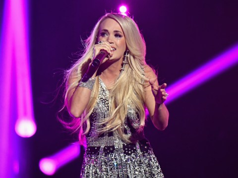 Carrie Underwood reveals face after freak accident 'wasn't pretty' following 40 stitches