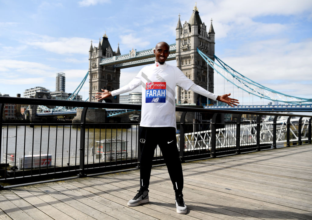 London Marathon odds make Mo Farah sixth favourite to win Sunday's race