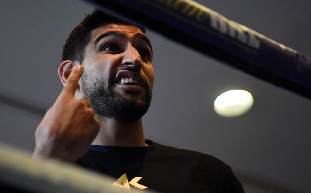 Amir Khan battling himself and his doubters after two-year exile from boxing