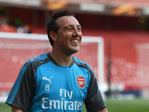 Alex Oxlade-Chamberlain sends class message to returning Arsenal star Santi Cazorla