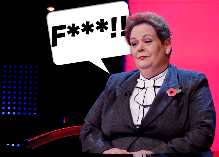 Anne Hegerty is on The Chase
