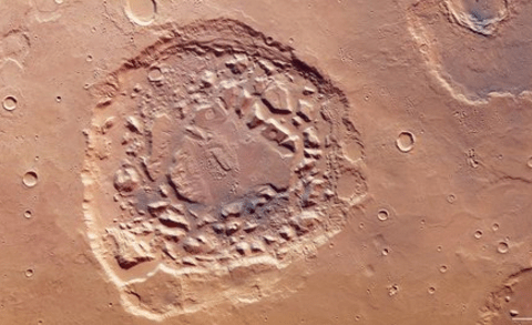 There's a huge hole on Mars and European Space Agency scientists can't fully explain why it's there
