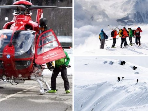 Three skiers killed after avalanche in the Alps