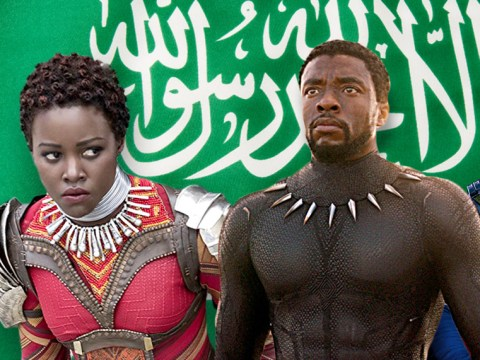 Black Panther will be the first film screened in cinemas in Saudi Arabia in 35 years