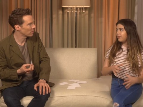 Avengers: Infinity War star Benedict Cumberbatch gives Youtube star Sophia Grace advice on dealing with bullies