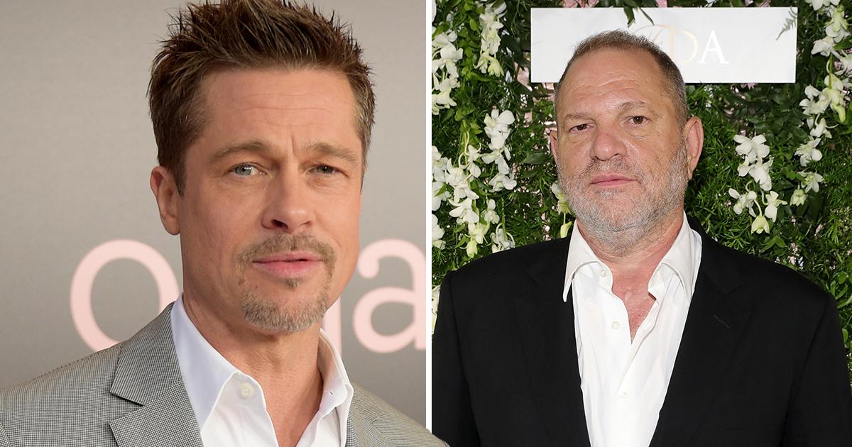 Brad Pitt to produce movie on Harvey Weinstein scandal