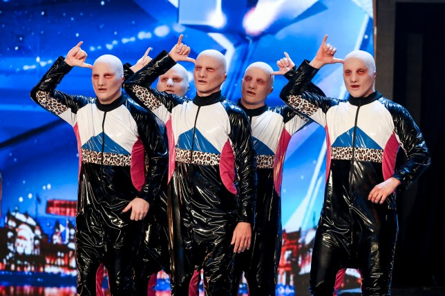 Who are BGT's dance troupe Baba Yega and where are they from