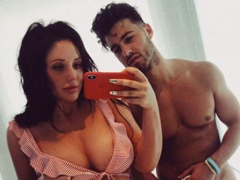 Charlotte Crosby shares naked Joshua Ritchie picture – but fans more shocked by her belly button