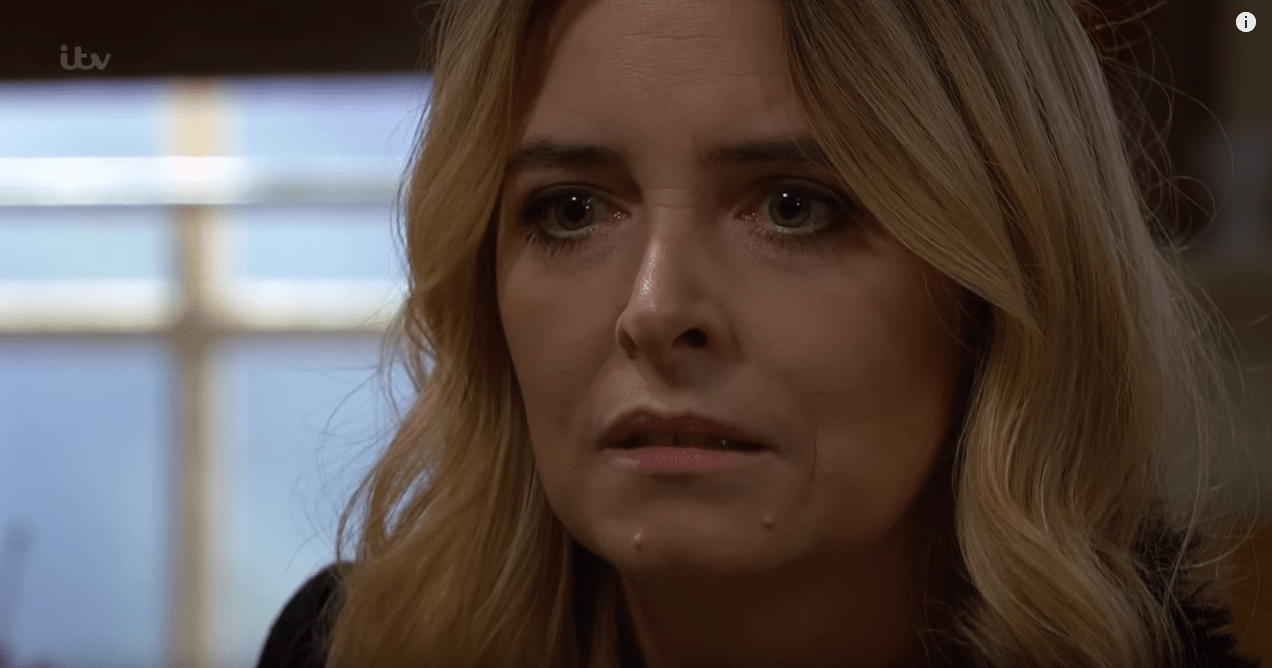 Charity reveals her past in Emmerdale