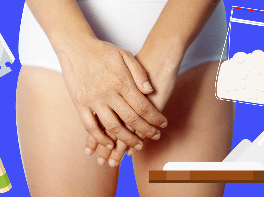 How does cocaine affect your vagina?