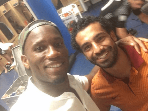 Didier Drogba sends class message to Mohamed Salah after he breaks Premier League record