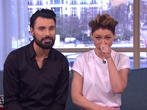 Emma Willis makes enormous 'arse' slip up on This Morning amid chat with mourning family