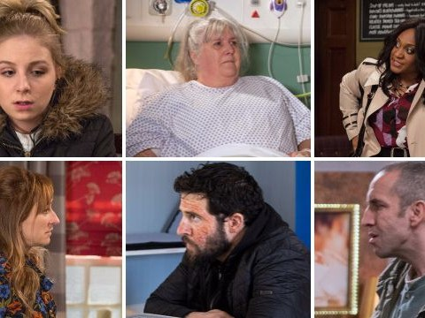 Emmerdale spoiler preview: 22 new pictures reveal new Ross Barton agony and Lisa Dingle's collapse