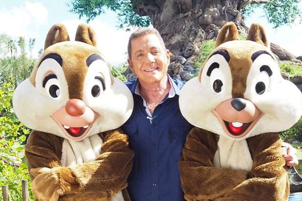 Dale Winton's final TV appearance saw him explore Disneyland on Florida Fly Drive