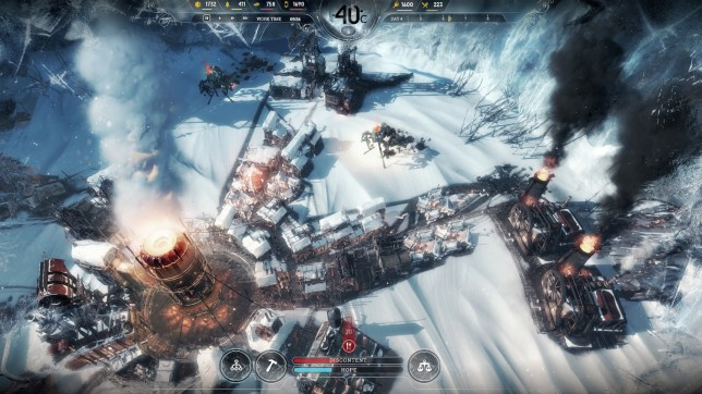 Frostpunk (PC) - will the city survive the cold, and your leadership?
