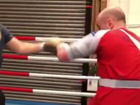George Groves returns to punching as fighter steps up fitness battle for WBSS final