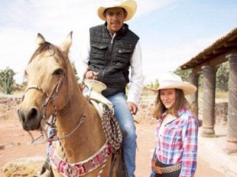 Woman almost blinded by horse after ditching £40k London job to work on ranch in Mexico