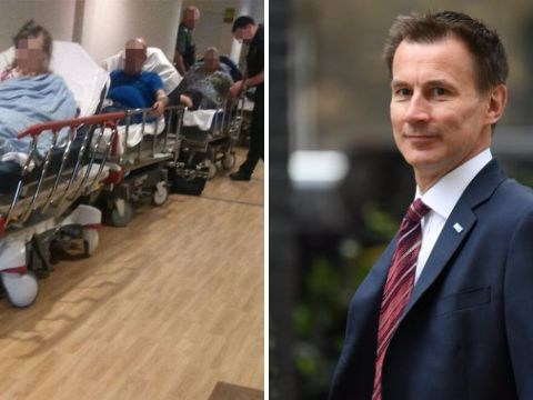 Jeremy Hunt has asked Tories if they've got any idea how to fix the NHS