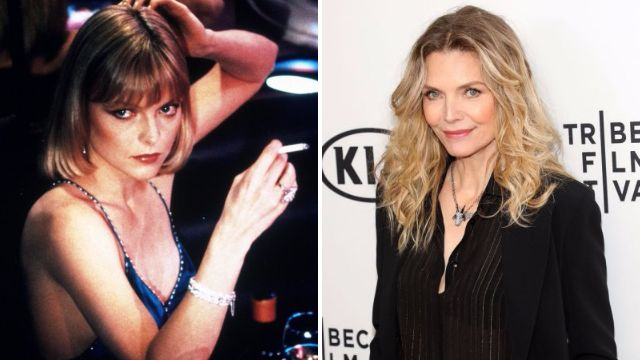 Michelle Pfeiffer asked how much she weighed at Scarface reunion after 'starving herself' for the role