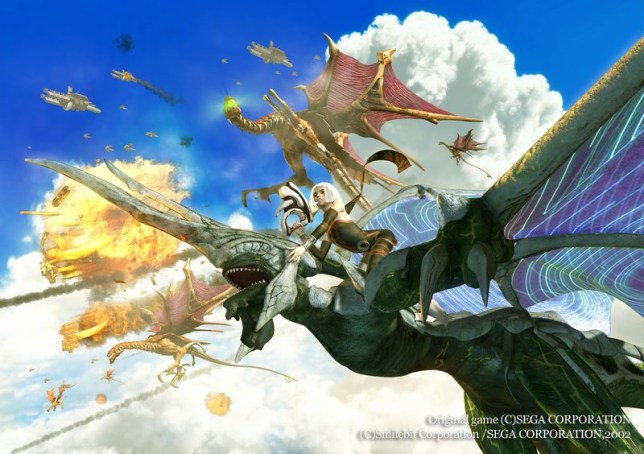 Panzer Dragoon Orta artwork