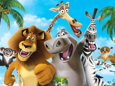 Who provides the voices for the Madagascar characters?