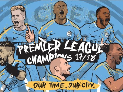 How Manchester City celebrated winning the Premier League title