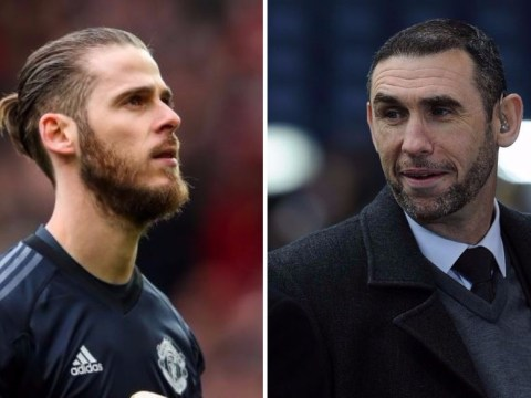 Martin Keown explains why David De Gea should not have been named in PFA team of the year