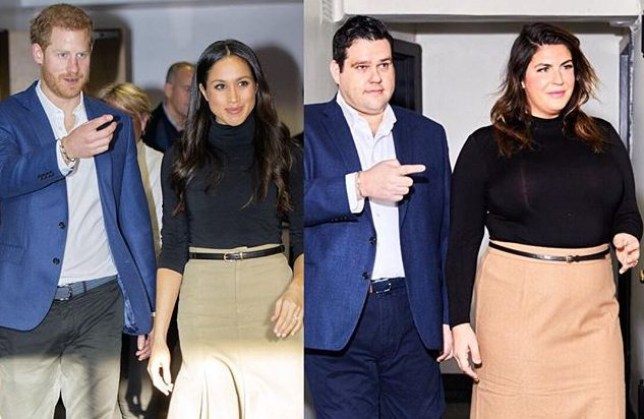 506c27403a7a4a Plus-size influencers recreate outfits worn by Meghan Markle and ...