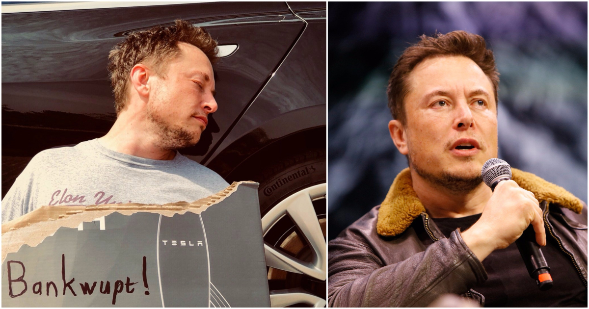 Elon Musk's April Fools' Day Tesla bankruptcy joke may cost him a lot of money