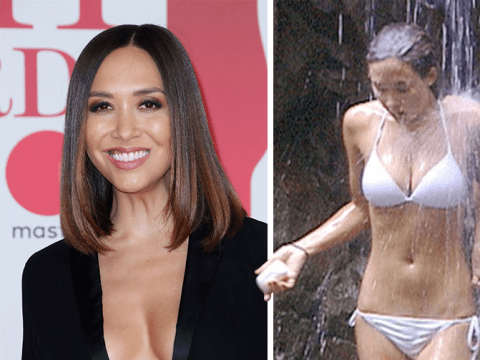 Myleene Klass says famous white bikini scene from I'm A Celeb 'was a great help' to her