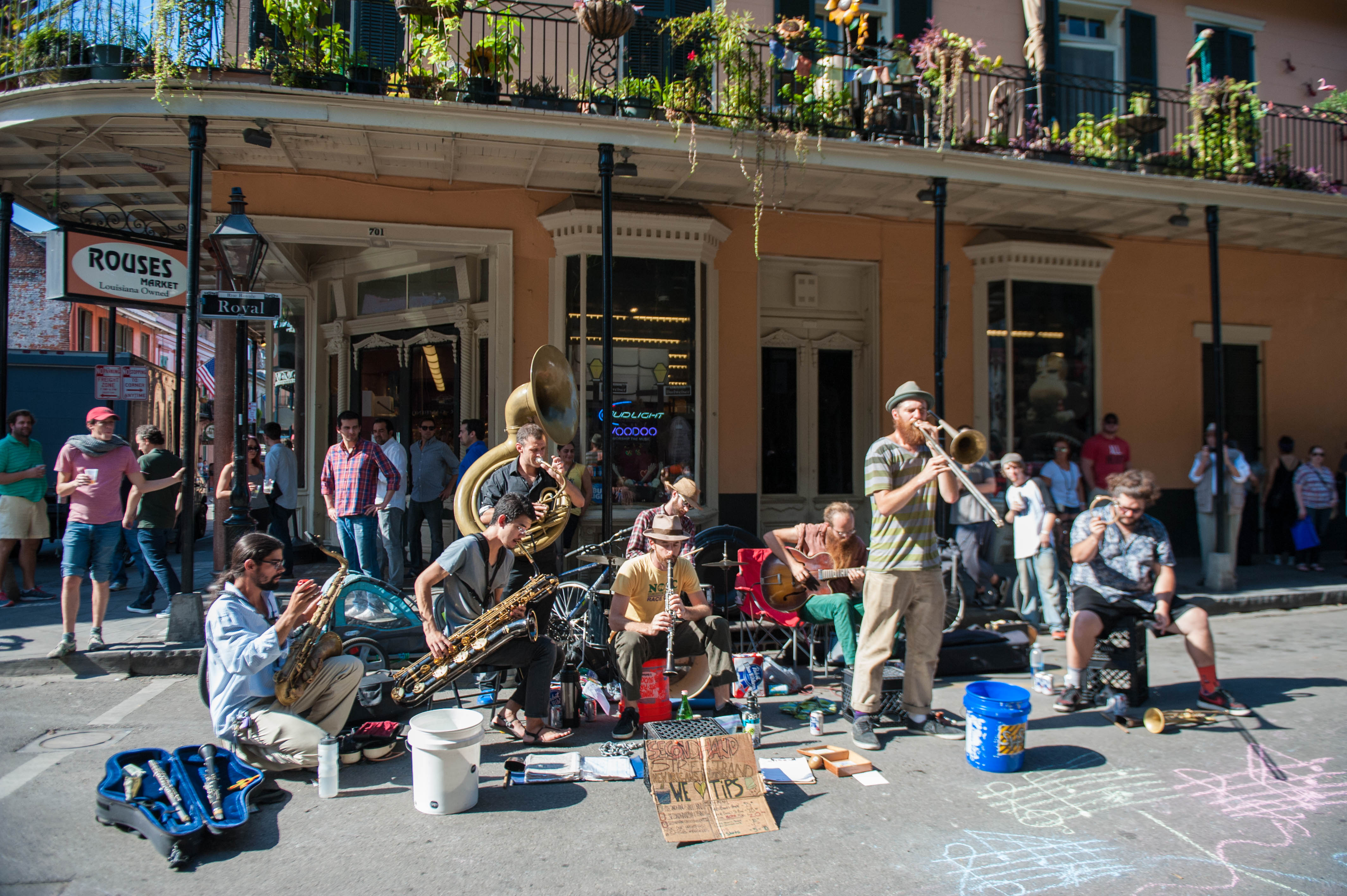 Music lover or foodie? New Orleans and Asheville, North Carolina are the ultimate mixture of both