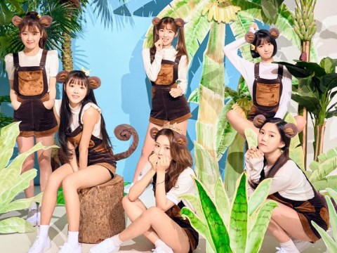 Oh My Girl's new subgroup Banhana makes a very cute debut on Music Bank