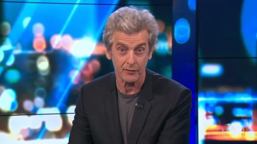 Peter Capaldi reprises Malcolm Tucker in swear-filled rant at Australian politician