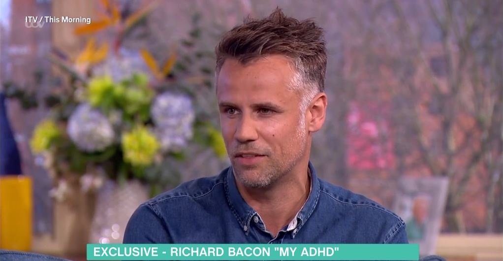 Richard Bacon opened up about his ADHD diagnosis on This Morning