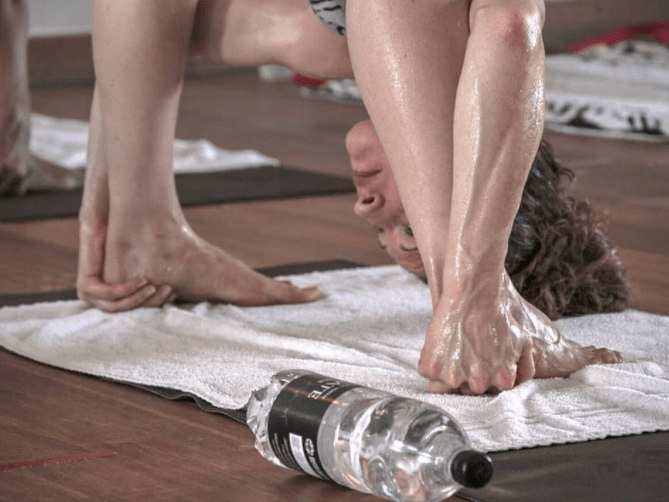 If you're suffering post-London Marathon, head to hot yoga