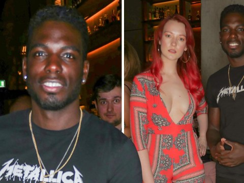 Marcel Somerville enjoys night out with his squad as he joins Victoria Clay at Nobu