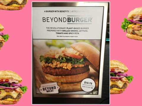 This restaurant refuses to serve a vegan burger without dairy