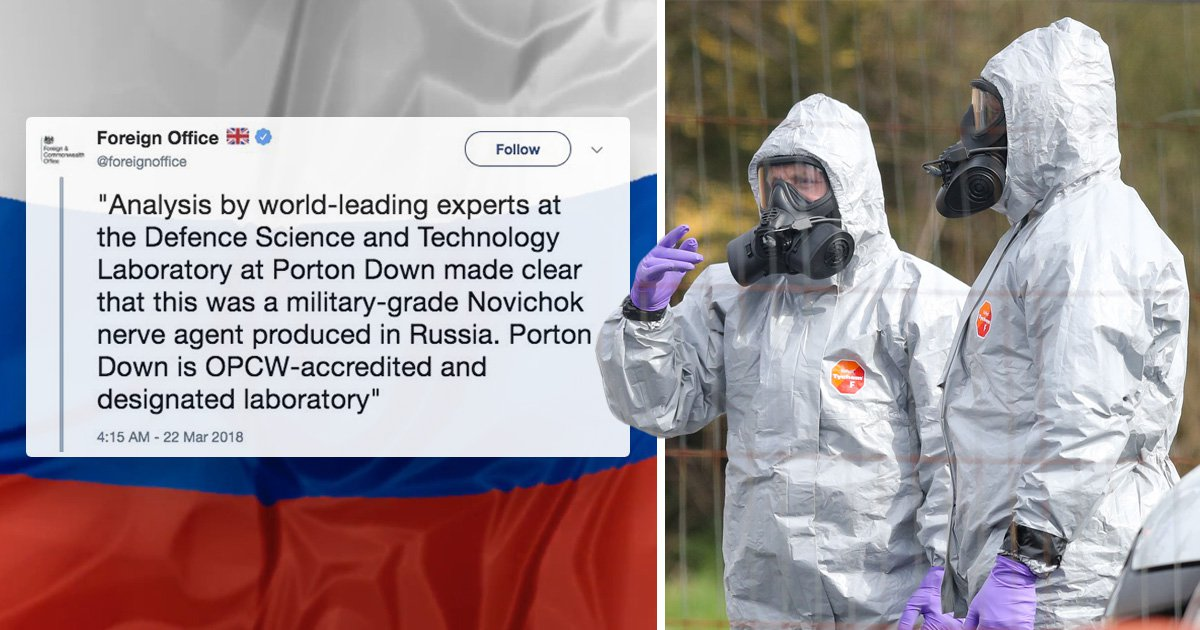 Foreign Office deletes tweet blaming Russia for Salisbury spy attack