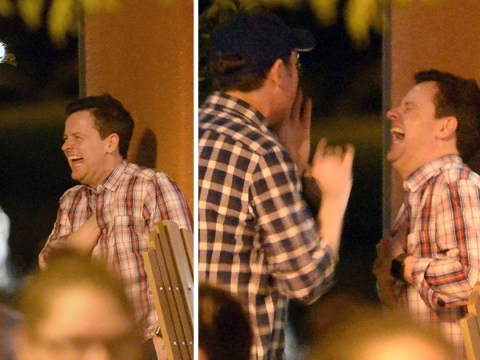 Declan Donnelly spotted having mighty giggle with Stephen Mulhern in Florida ahead of Saturday Night Takeaway finale
