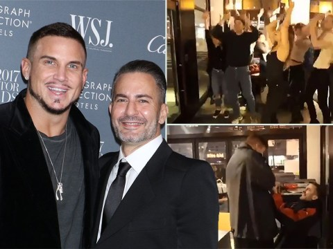 Marc Jacobs proposes to boyfriend with a flashmob in Chipotle