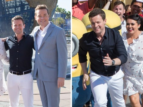Declan Donnelly, Scarlett Moffatt and Stephen Mulhern crack on with Saturday Night Takeaway finale without Ant McPartlin