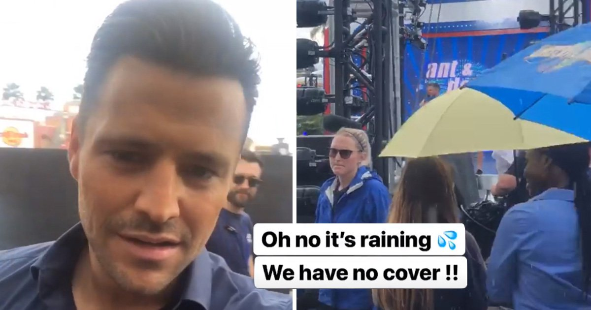 Mark Wright lifts the lid on Saturday Night Takeaway's 'wet drama' as Dec Donnelly aces finale