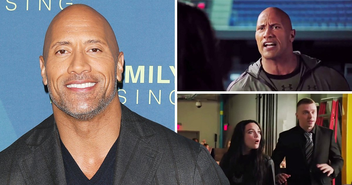 Dwayne 'The Rock' Johnson gives WWE fans nostalgia in sneak peek clip of Fighting With My Family