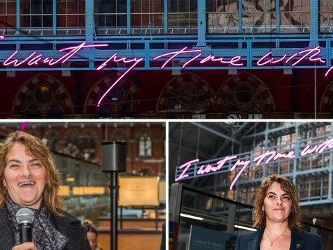 Tracey Emin sends message to Europe over Brexit with latest artwork