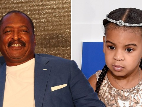 Mathew Knowles reckons Blue Ivy could follow in Beyonce's footsteps