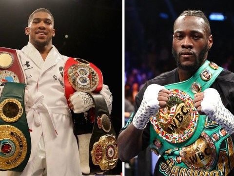Deontay Wilder slammed for playing games as Anthony Joshua prepares for Alexander Povetkin fight