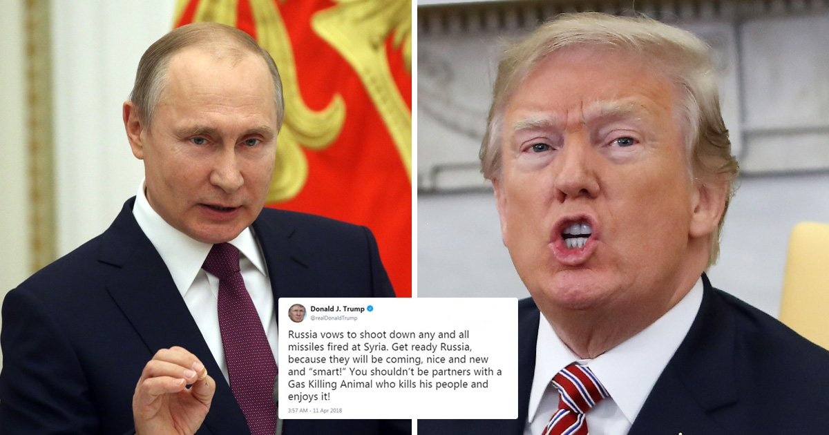Donald Trump warns Russia 'missiles will be coming' in terrifying new tweet